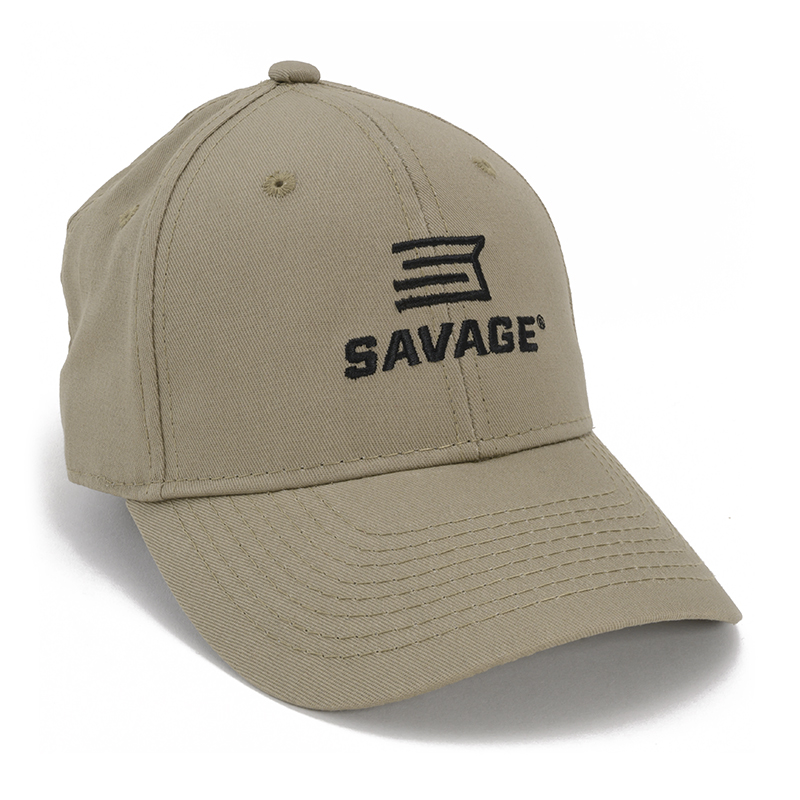 TAN HAT w/ SAVAGE LOGO