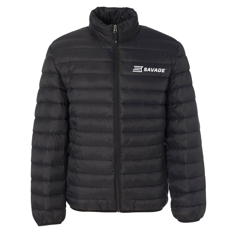 WEATHERPROOF 32 DEGREES PACKABLE DOWN JACKET w/WHITE SAVAGE LOGO